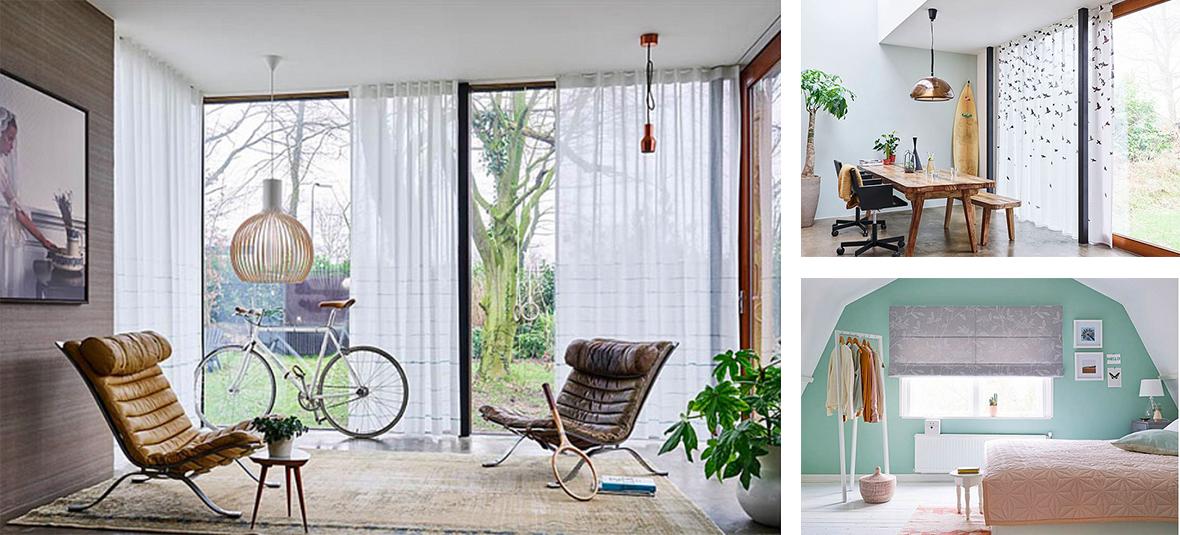 volop inspiratie voor uw interieur vindt u in de fantastische collectie gordijnen inbetweens en vitrages van van vliet wonen geweven en bedrukte stoffen